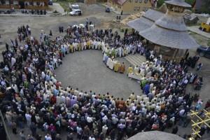 Inima de rugaciune la Manastirea Paltin