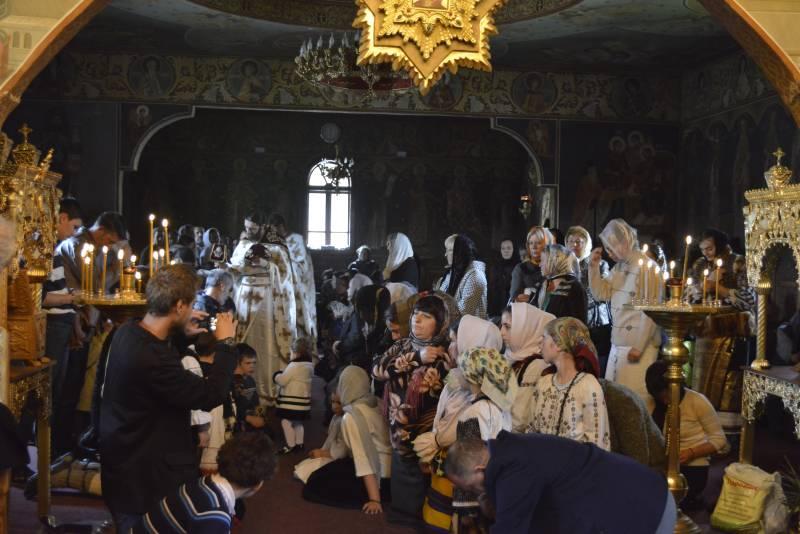 Părintele Justin s-a întors la Mănăstirea Paltin