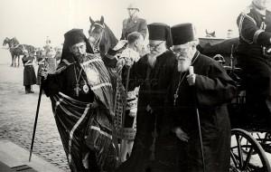 Irineu Mihalcescu & Nicodim Munteanu in 1939 (arhiva Lumina)