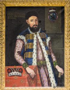 Portretul voievodului Constantin Brîncoveanu (1696, Mănăstirea Sinai)