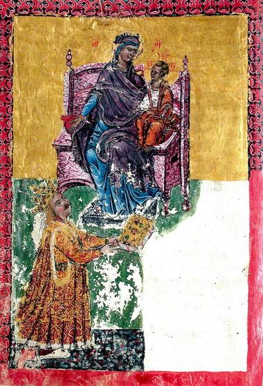Portretul Sfîntului Ştefan cel Mare din Tetraevangheliarul de la Humor