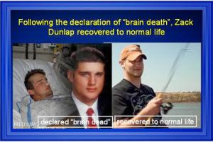 Zach Dunlap brain dead recovered