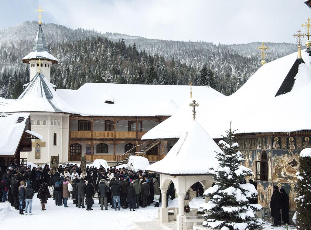 Mănăstirea Petru Vodă - Boboteaza 2015.4