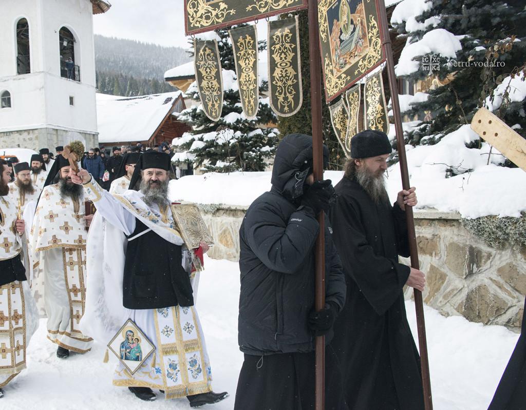 Mănăstirea Petru Vodă - Boboteaza 2015.5