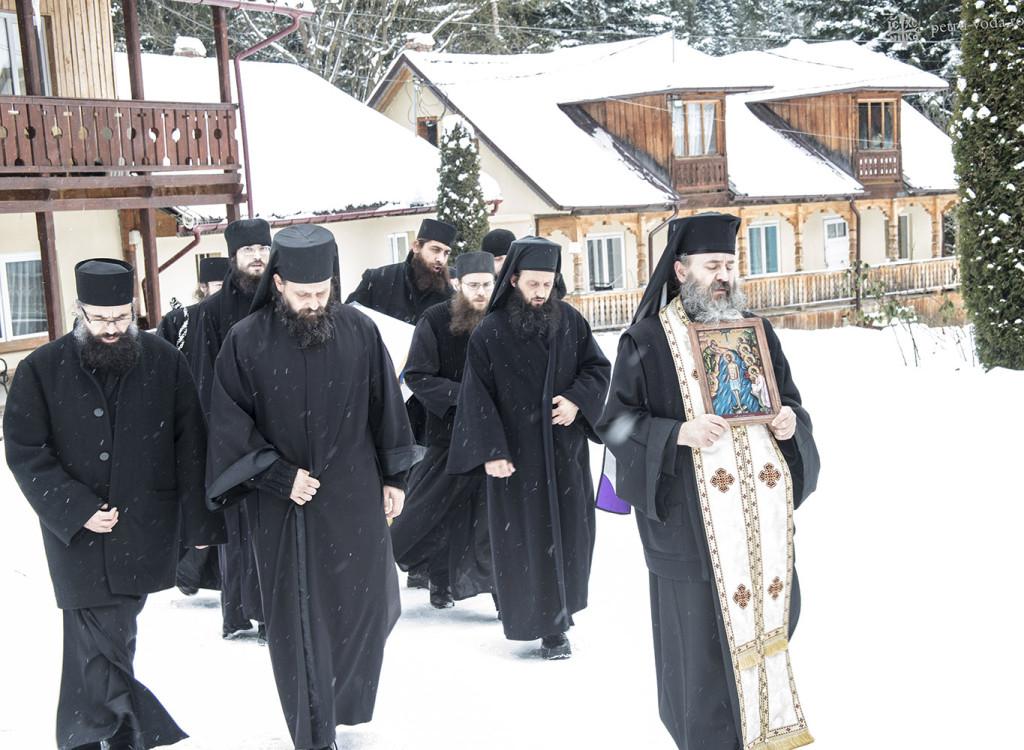 Mănăstirea Petru Vodă - Boboteaza 2015.6