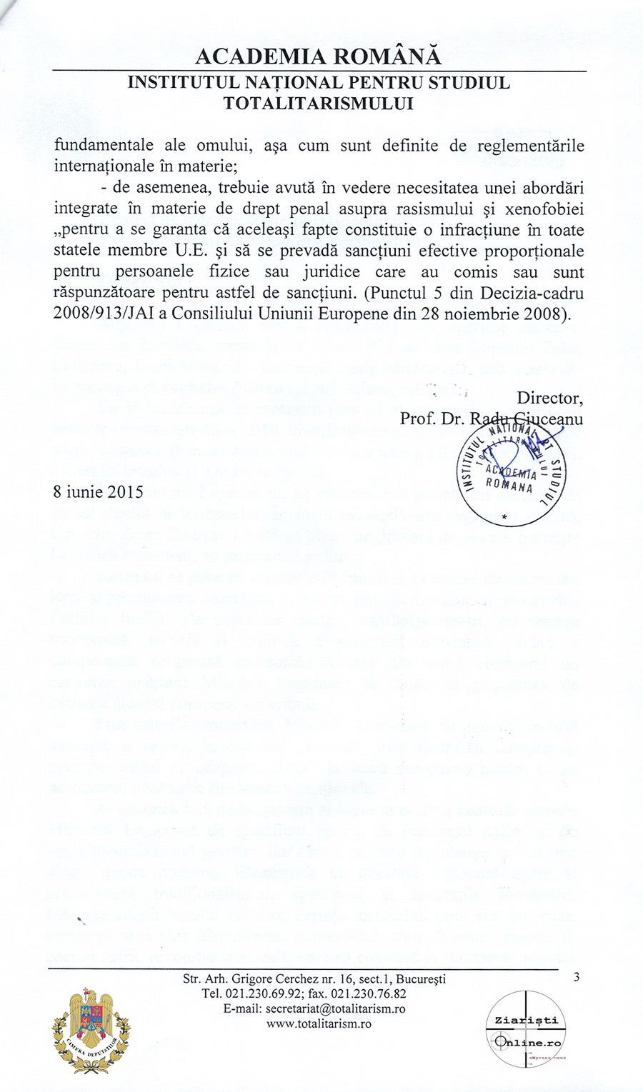 Academia-Romana-INST-despre-Miscarea-Legionara-03-Iunie-2015-Camera-Deputatilor-Ziaristi-Online
