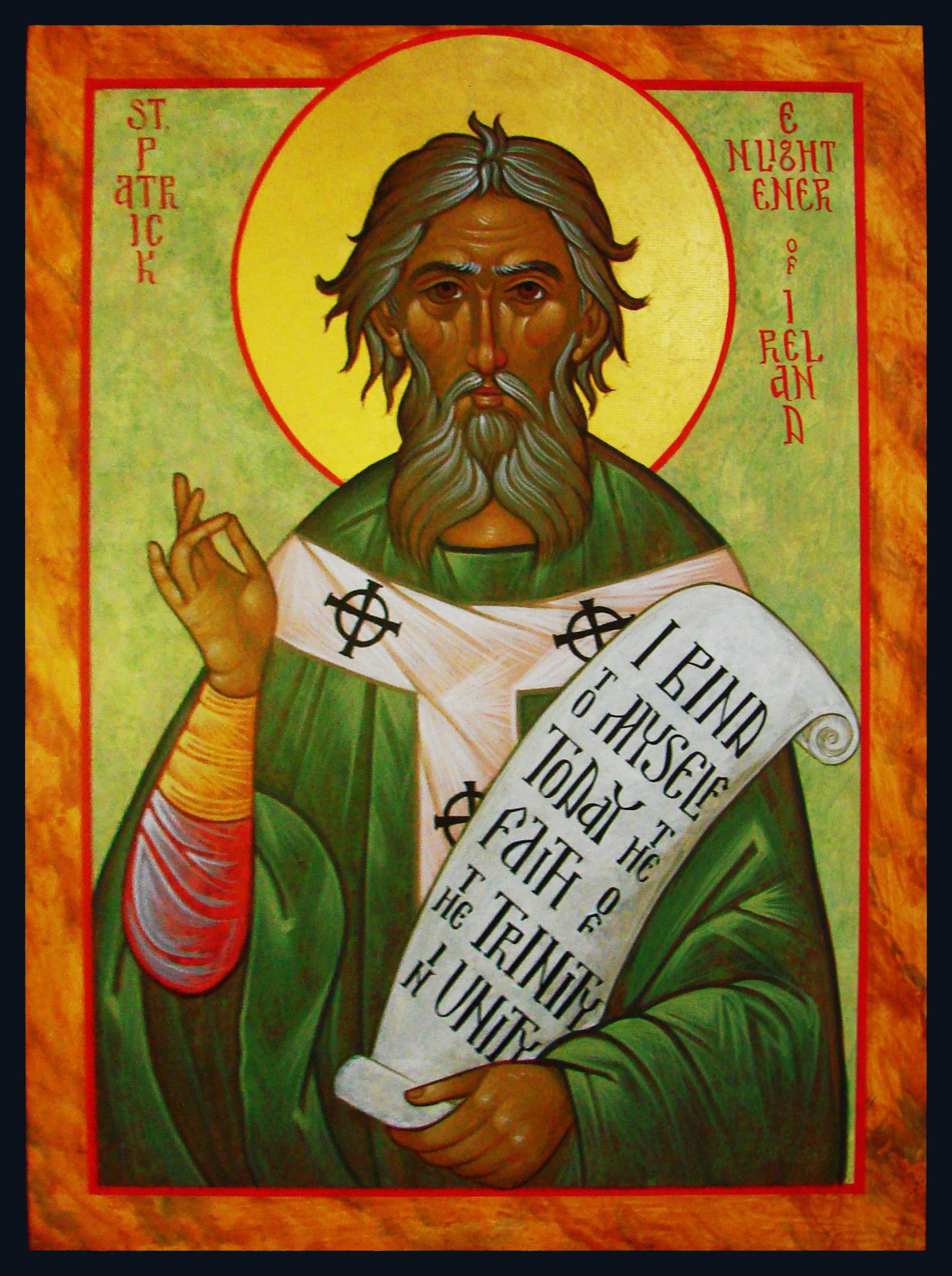 Rugăciunea Sfântului Patrick (sec. V)