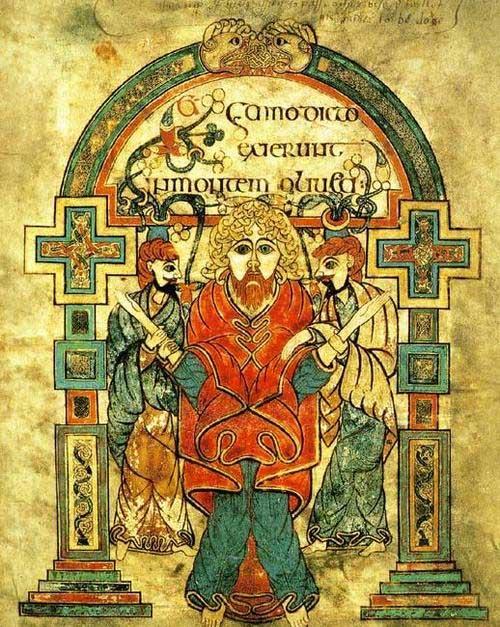 arestarea lui Hristos (mss. Kells)