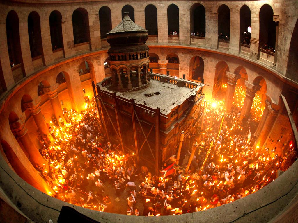 Rugăciunea la venirea Sfintei Lumini