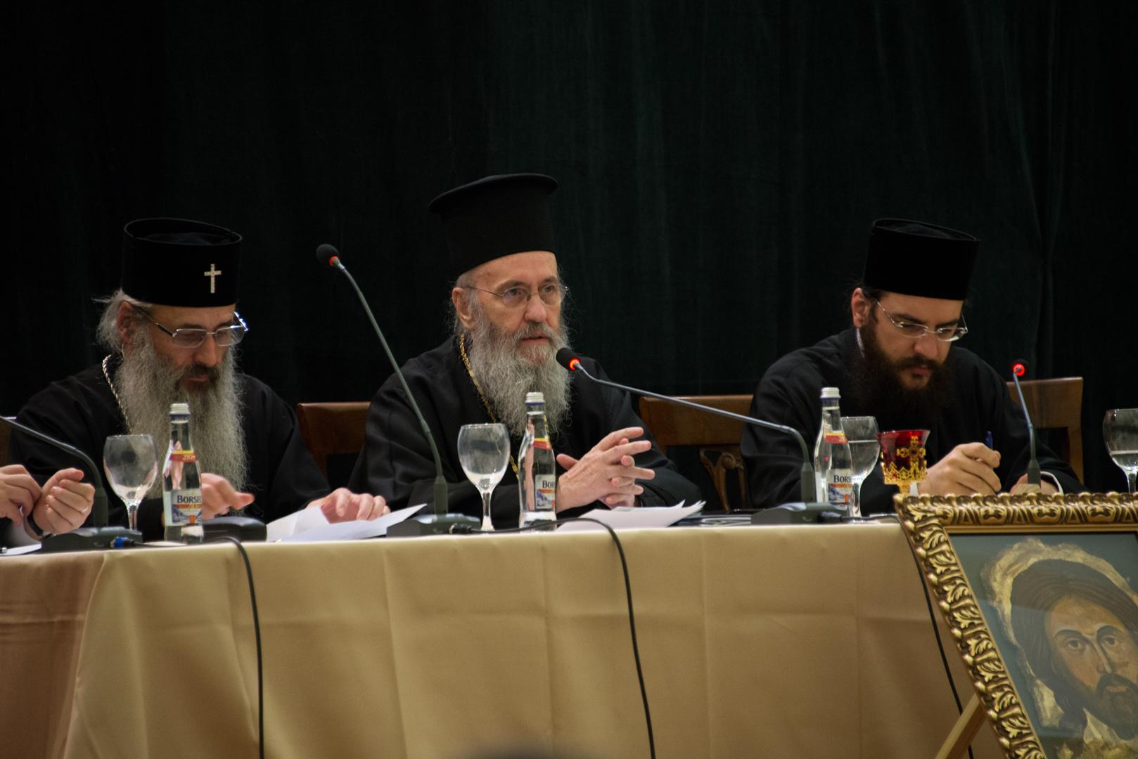IPS Ierotheos Vlahos susţine poziţia ortodoxă a Mănăstirii Petru Vodă