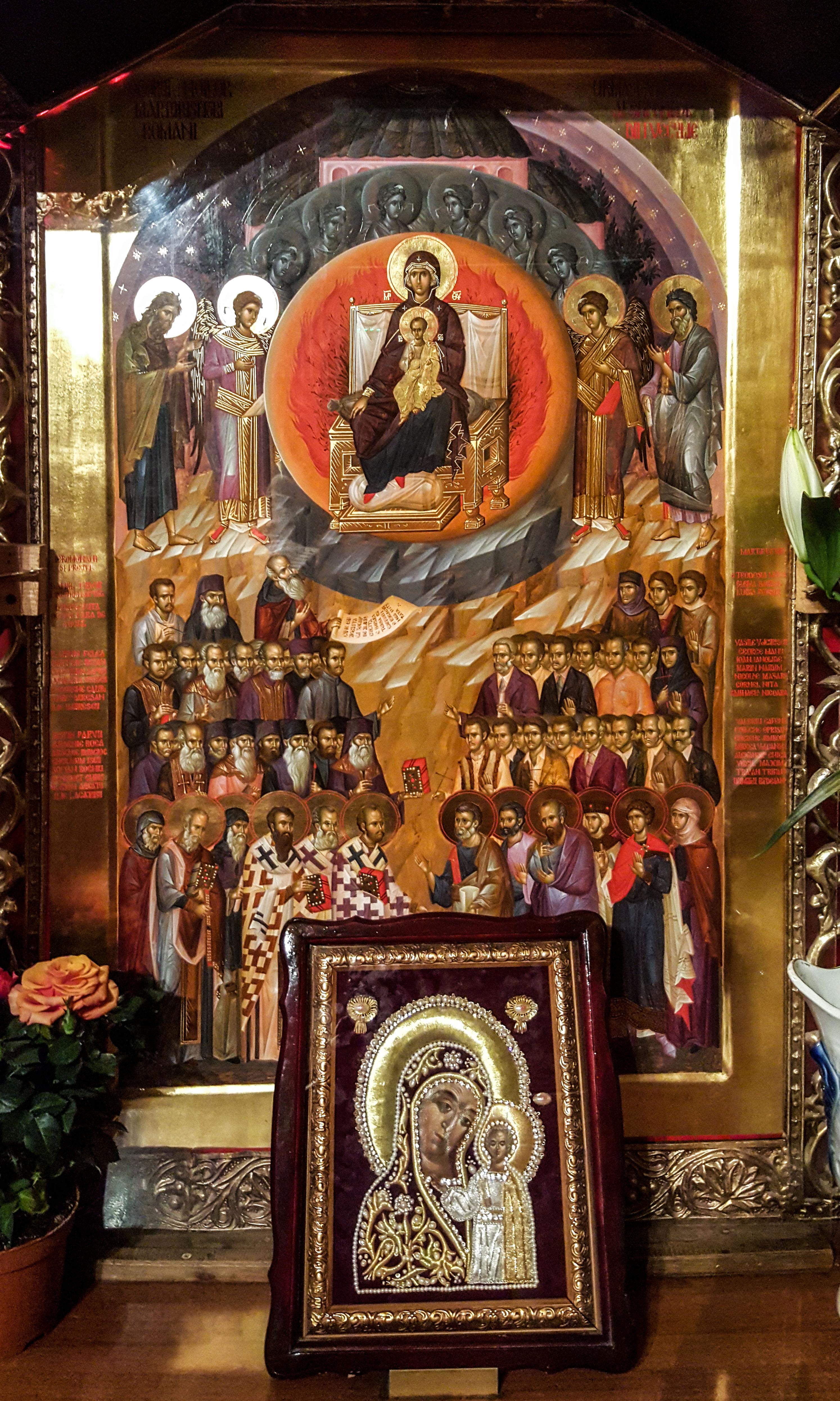 Icoana Sfinţilor Mărturisitori Români