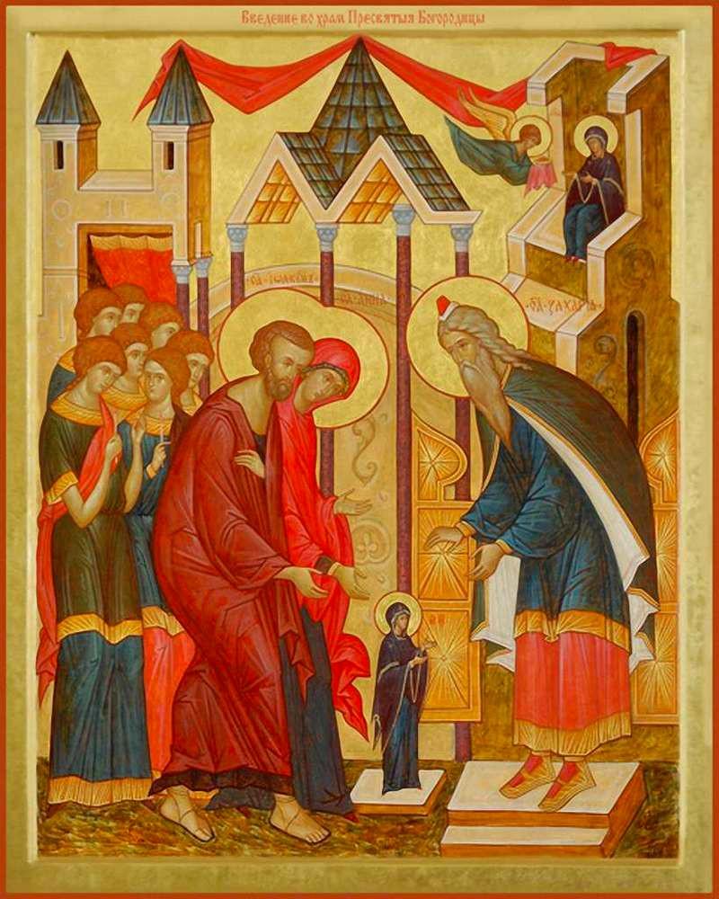 Sfântul Grigorie Palama – Predică la Intrarea în Sfânta Sfintelor a Preasfintei Stăpânei noastre, Născătoarea de Dumnezeu. Omilia 52