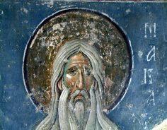 Sf. Macarie Egipteanul – Despre legea creştinului