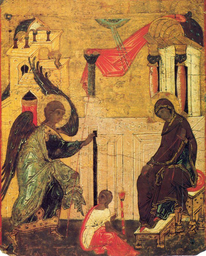 Sf. Neofit Zăvorîtul – Despre Dumnezeiescul Gavriil și despre Buna Vestire a Maicii lui Dumnezeu