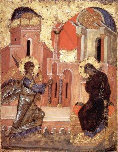 Sf. Theodor Studitul – Cateheza 64. Despre iconomia cea după trup a Domnului nostru Iisus Hristos şi că trebuie să prăznuim duhovniceşte, rostită în ziua Bunei Vestiri