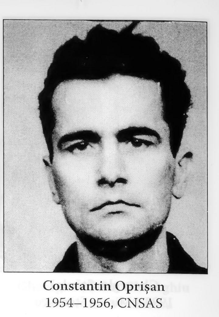 Cum a murit Constantin Oprişan