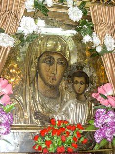 Icoana Maicii Domnului în faţa căreia s-a rugat Sf. Maria Egypteanca