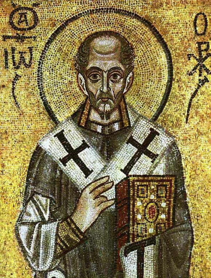 Sf. Ioann Gură de Aur – Cuvântul era lumina cea adevărată