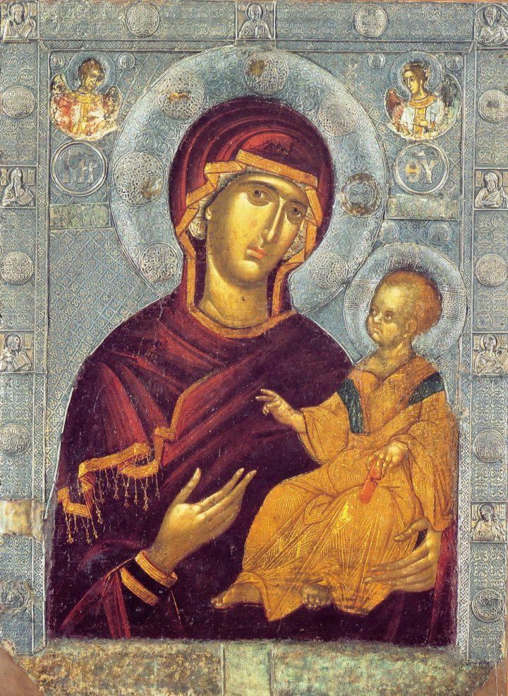 Rugăciune către Maica Domnului a Sfîntului Gherman al Constantinopolei