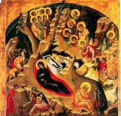 Sf. Ioann Damaschin – Cuvînt la Naşterea Domnului