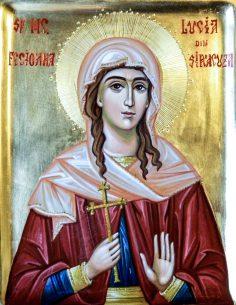 Acatistul Sfintei Muceniţe Lucia (13 Decembrie) INEDIT