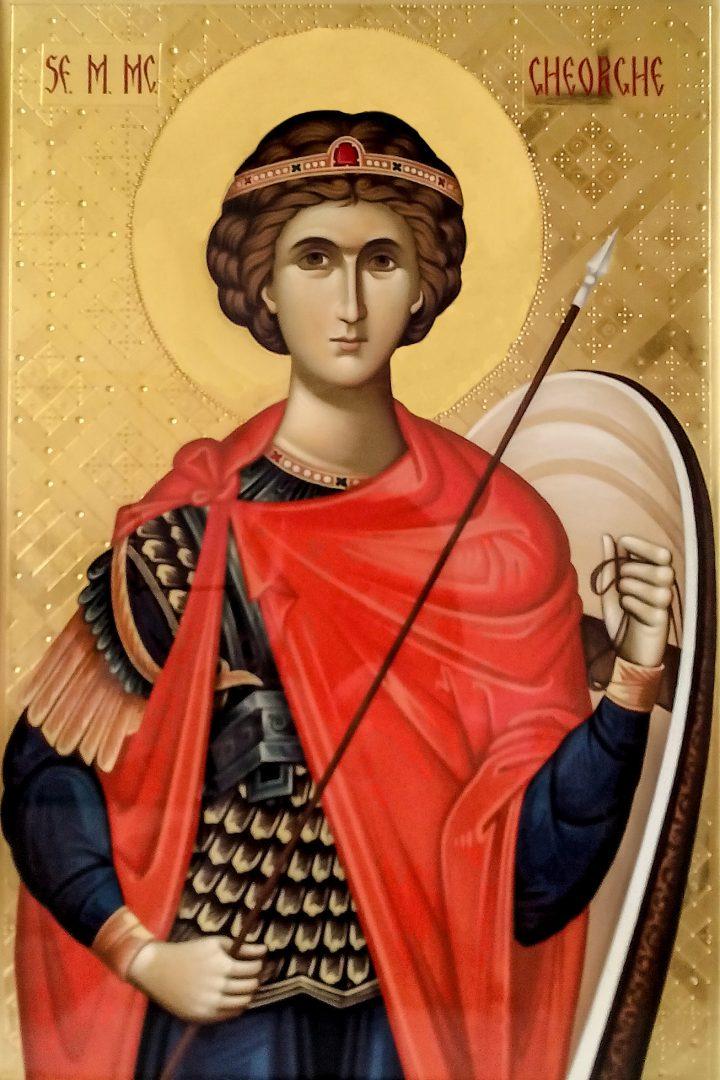 Ierom. Leonid – Predică la Sf. Gheorghe în Sîmbăta învierii lui Lazăr