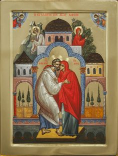 Icoana familiei creştine: Sfinţii Ioachim şi Ana