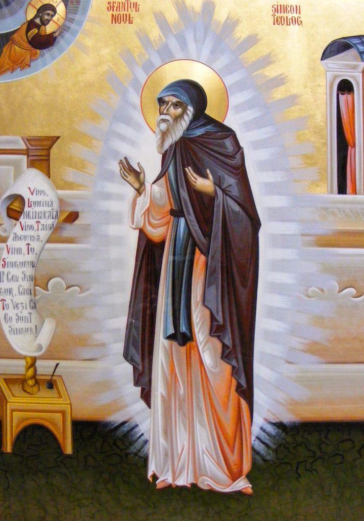 Sf. Simeon Noul Teolog – Un imn al dumnezeieştii iubiri