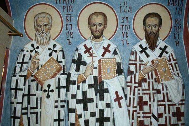 Sfinţii Trei Ierarhi şi geocentrismul