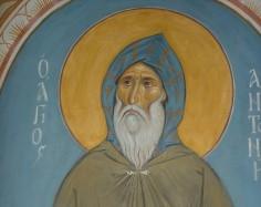 Sfîntul Antonie cel Mare, ortodoxul, anti-ecumenistul