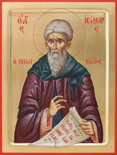 Sf. Isidor Pelusiotul despre cei ce postesc şi înjură