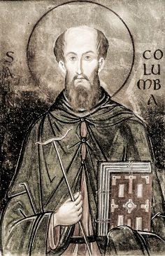 Sf. Columban – Scrisoare către Papă