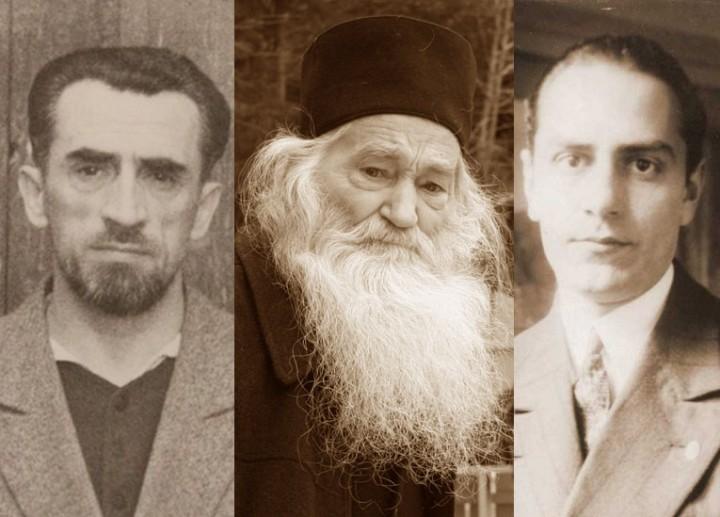 Părintele Justin Pârvu, cetăţean de onoare al Aiudului, împreună cu Părintele Ilarion Felea şi cu filosoful Mircea Vulcănescu