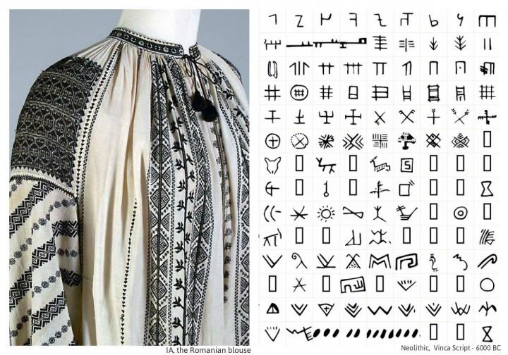 Costumul tradiţional românesc: templu la purtător