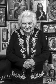 Amma Aspazia Oţel, la 92 de ani