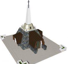 Sîmbătă, 21 Mai 2016 – sfințirea monumentului de la Nemţişor, conceput de Arhim. Justin Pârvu