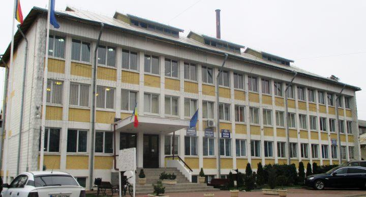 Strada Iustin Pârvu din Târgu Neamţ