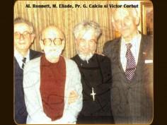 Sfîntul Gheorghe, Pr. Gheorghe Calciu şi Mircea Eliade (+22 Aprilie 1986)